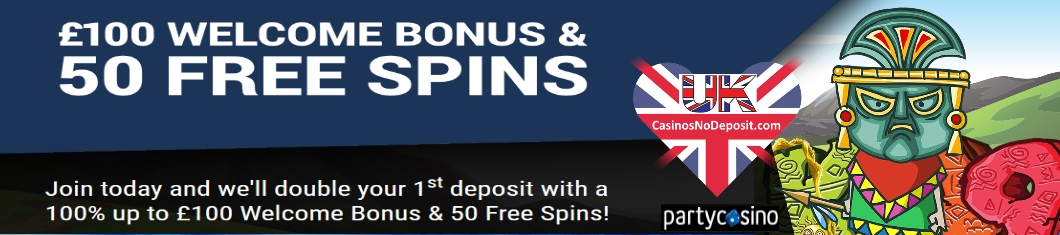 Party City Casino No Deposit Bonus Codes